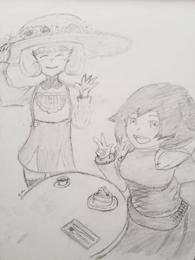 Entertainment: General - My Rwby drawing! image 2