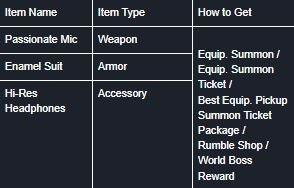 DESTINY CHILD: FORUM - images or stats for the new items? image 1