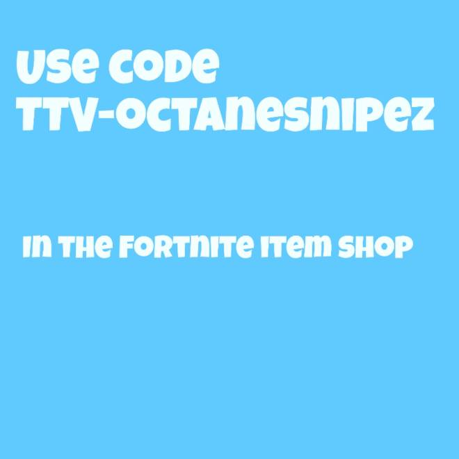 Fortnite: Promotions - Use my code for a surprise  image 1