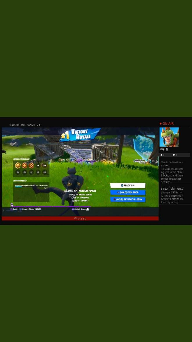Fortnite: General - Three victory royals from yesterday let's go  image 1