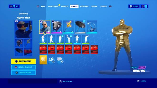 Fortnite: General - 🥺🥺 I need you to be all the way gold please I want golden cat 🐈  image 1