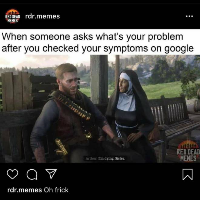 Red Dead Redemption: Memes - Every Sickness Ever!🤒 image 1