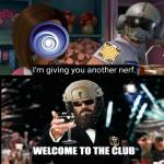 Nerf club forever remember the Jager legacy of good ole acog days