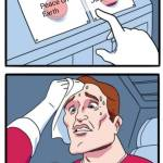 We all know what to choose.