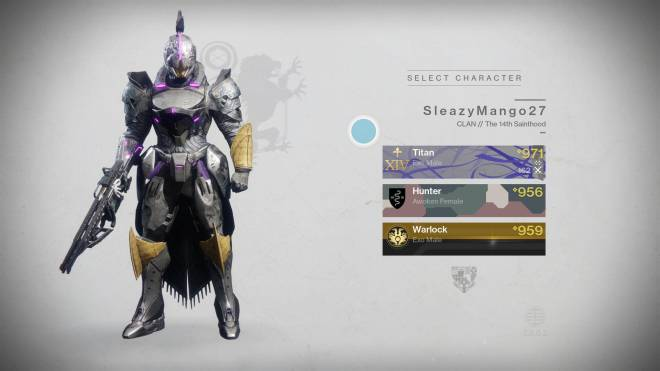 Destiny: General - My light levels image 2