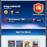 Hers an amazing deck for ladder pushing if you have the levels #clash with Shane