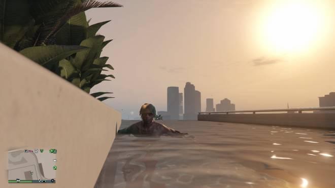 GTA: General - IM ON TOP WATCHING THE SUN ☀️ RISE. #YRN💵  image 7