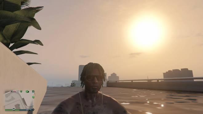 GTA: General - IM ON TOP WATCHING THE SUN ☀️ RISE. #YRN💵  image 6