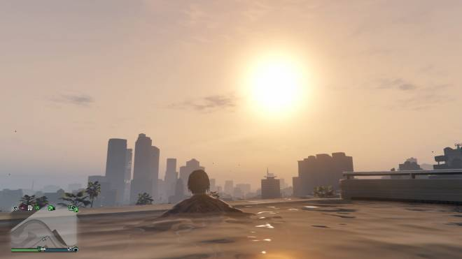 GTA: General - IM ON TOP WATCHING THE SUN ☀️ RISE. #YRN💵  image 2