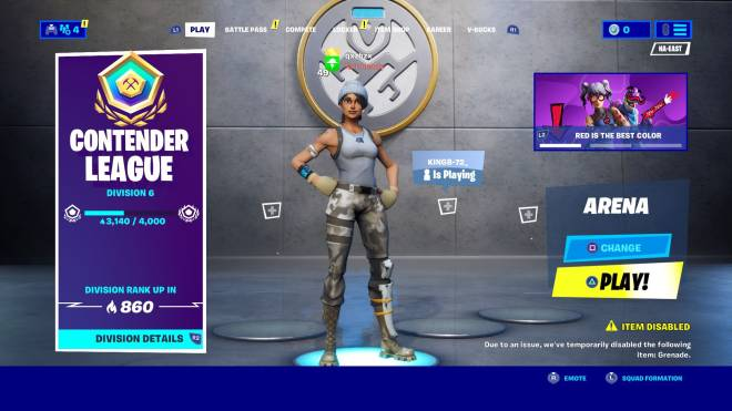 Fortnite: Looking for Group - Need a Na-east arena partner d6 3k plus points image 3