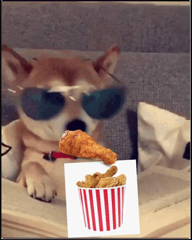 Off Topic: General - Wolf eats fried chicken image 3