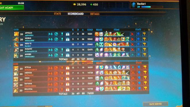Smite: General - Hou yi is kinda op if you know to hop weakest gods on the team then just melt the tanks image 1