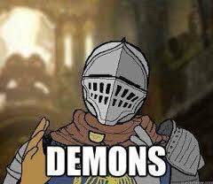 Dark Souls: Memes - When you enter lost izalith in Dark Souls  image 1