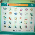Shiny Pokémon and others for trade image below