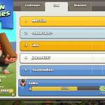 My clan is doing so good in clan games!