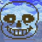 Sans Undertale in Terraria