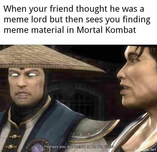 Mortal Kombat: Memes - Daily meme 34# image 1