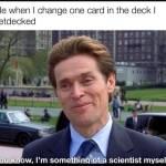 I is genius!