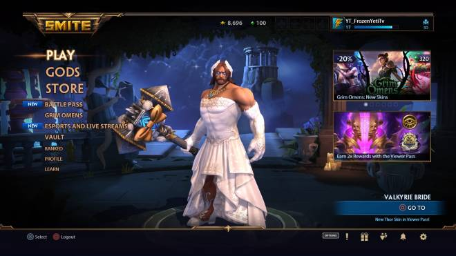 Smite: General - Thor what you doing in a wedding dress  image 1