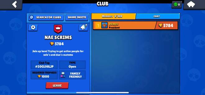 Brawl Stars: Club Recruiting - JOIN FOR CUSTOMS! image 2