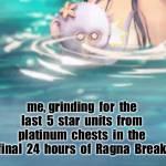 farewell, Ragna Break 😭