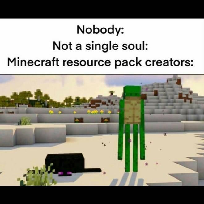 Minecraft: Memes - Resource packs image 1