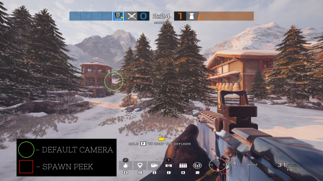 Rainbow Six: Guides - Guide for playing 'Kali' on 'Chalet' image 11