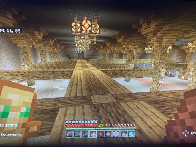 Minecraft: General - So far this is the idea, third picture there a stone brick wall with a village I'm building  image 3