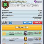 Clan invitation