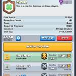 just join r clan we need one more level 8 for clan wars