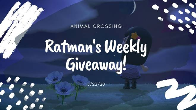 Animal Crossing: Posts - CLOSED: Ratman's Weekly Animal Crossing Giveaway image 2