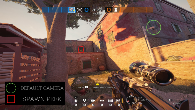 Rainbow Six: Guides - Guide for playing 'Kali' on 'Villa' image 7