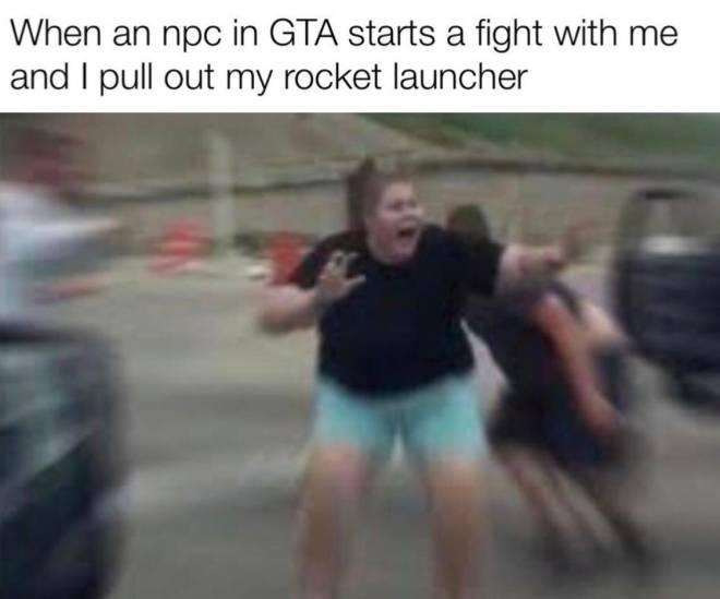 GTA: Memes - Shit! image 1