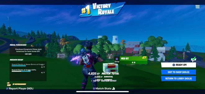 Fortnite: General - solo squad win lol🥺 image 1