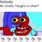 How mr Krabs laughs 😂