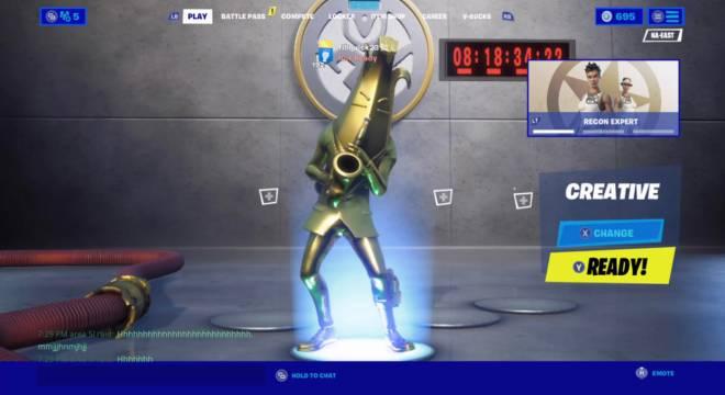 Fortnite: Battle Royale - I got golden and Pelee image 3