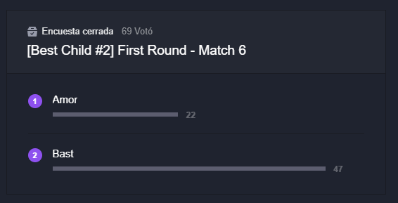 DESTINY CHILD: FORUM - [Best Child #2] First Round - Match 7 image 3