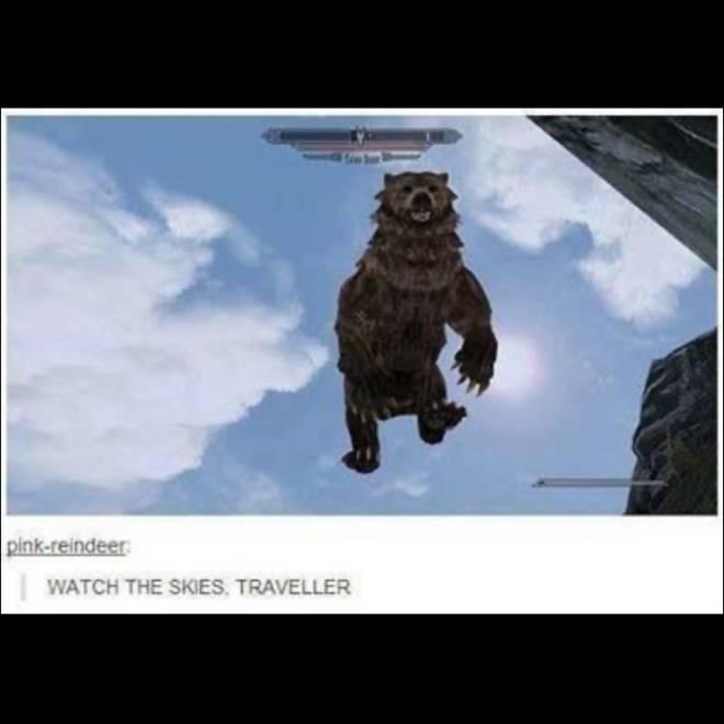 Elder Scrolls: General - Watch the skies! image 1