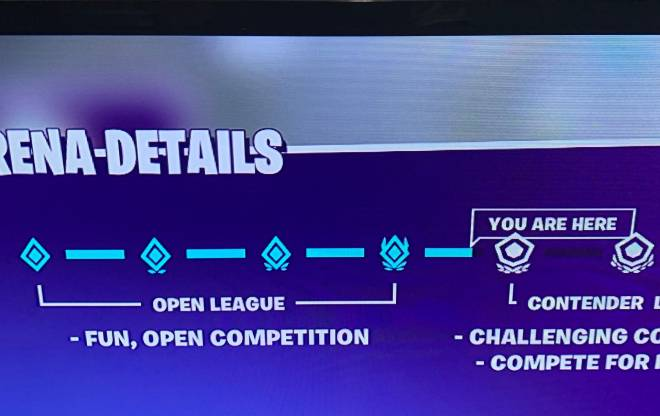 Fortnite: General - Stuck in division four idk why image 1