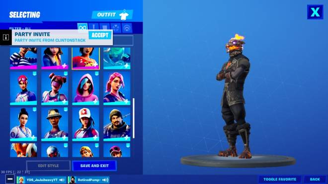 Fortnite: General - Who wants to trade accounts this is all I have and I'm not a scam I wanna trade for a decent account image 2