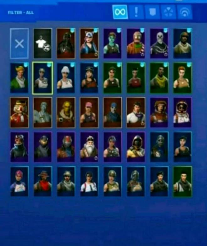 Fortnite: Looking for Group - TRADING OG ACC FOR GODLY ACC. TALK TO ME FOR MOR INFO image 3