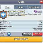 We need people to push Clan Wars and Trophies!