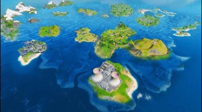 Fortnite: Battle Royale - Chapter 2, Season 3 Map image 2
