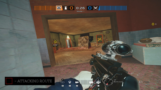 Rainbow Six: Guides - Guide for playing 'Doc' on 'Clubhouse'. image 5