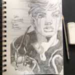 You all like JoJo? Here are some drawings I've done +a self portrait.