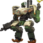 Overwatch Characters Lore: Bastion