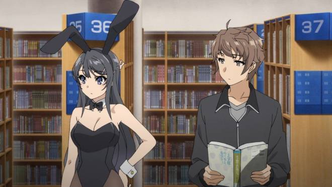 Entertainment: Animations - Anime Review: Rascal Does Not Dream of Bunny Girl Senpai  image 3
