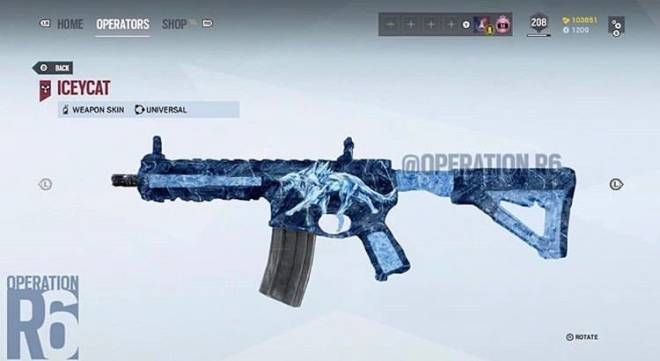 Rainbow Six: General - RIP ICEYCAT (R4-C Skin Tribute)  image 1