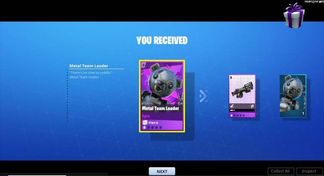 Fortnite: Save the World - New Metal Team Leader Pack image 4