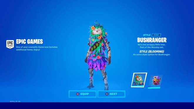 Fortnite: General - Bushyboi got a new style and I'm in love 🥺💕✨ image 1